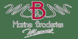 Logo marine broderie